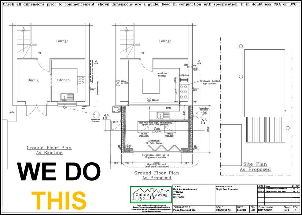 Floor Plan Drawing online