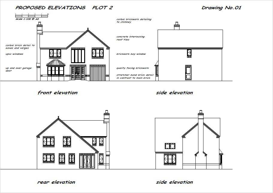 Planning Drawing Elevations