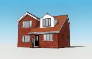3D home extension visualisation online