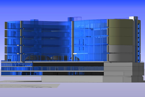 commercial building 3d visualisation online