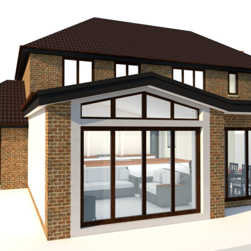 3D house extension visulasition online