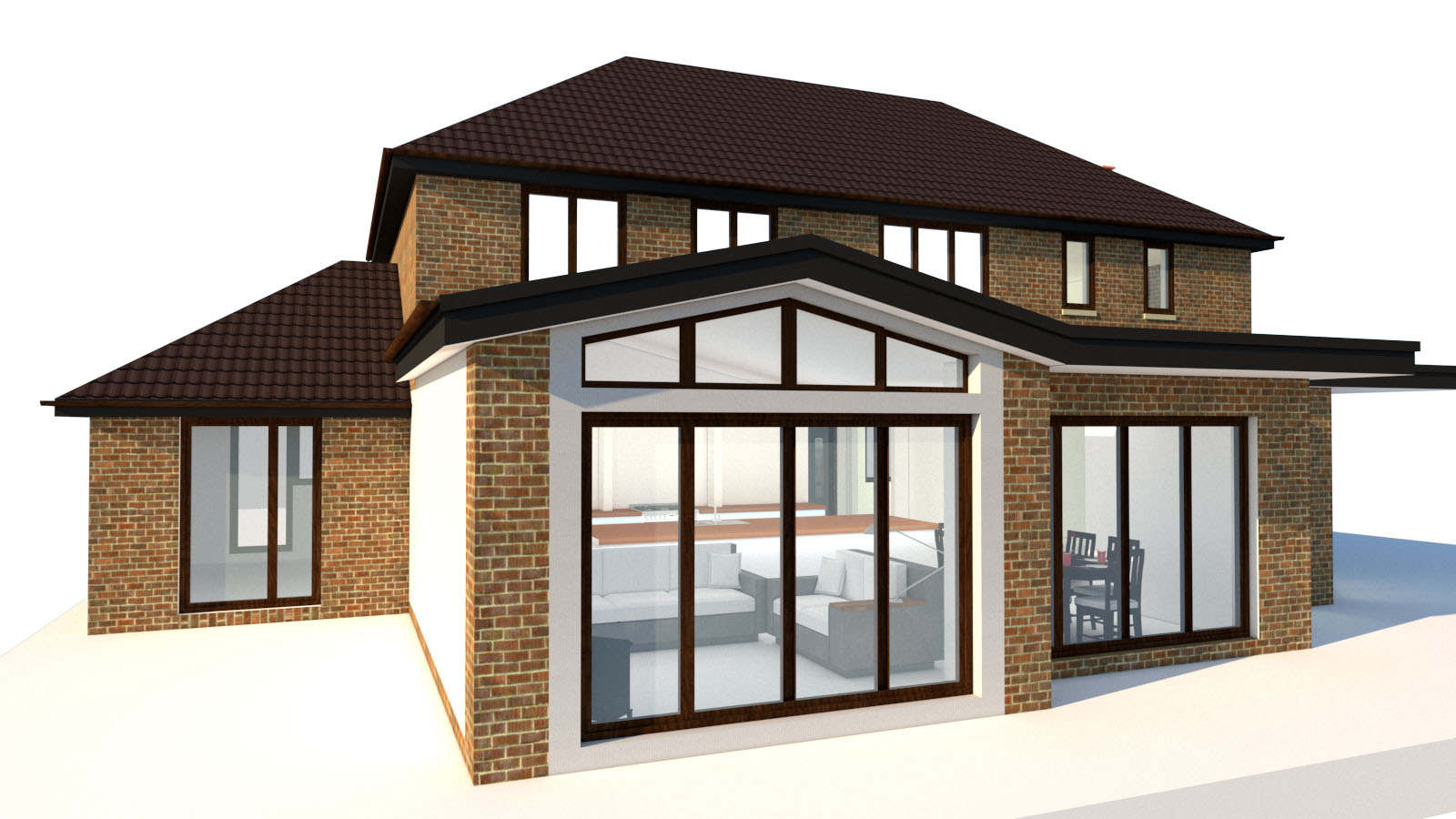 3d house extension visualisation online