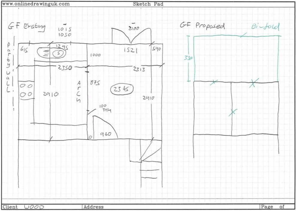 planning drawings online