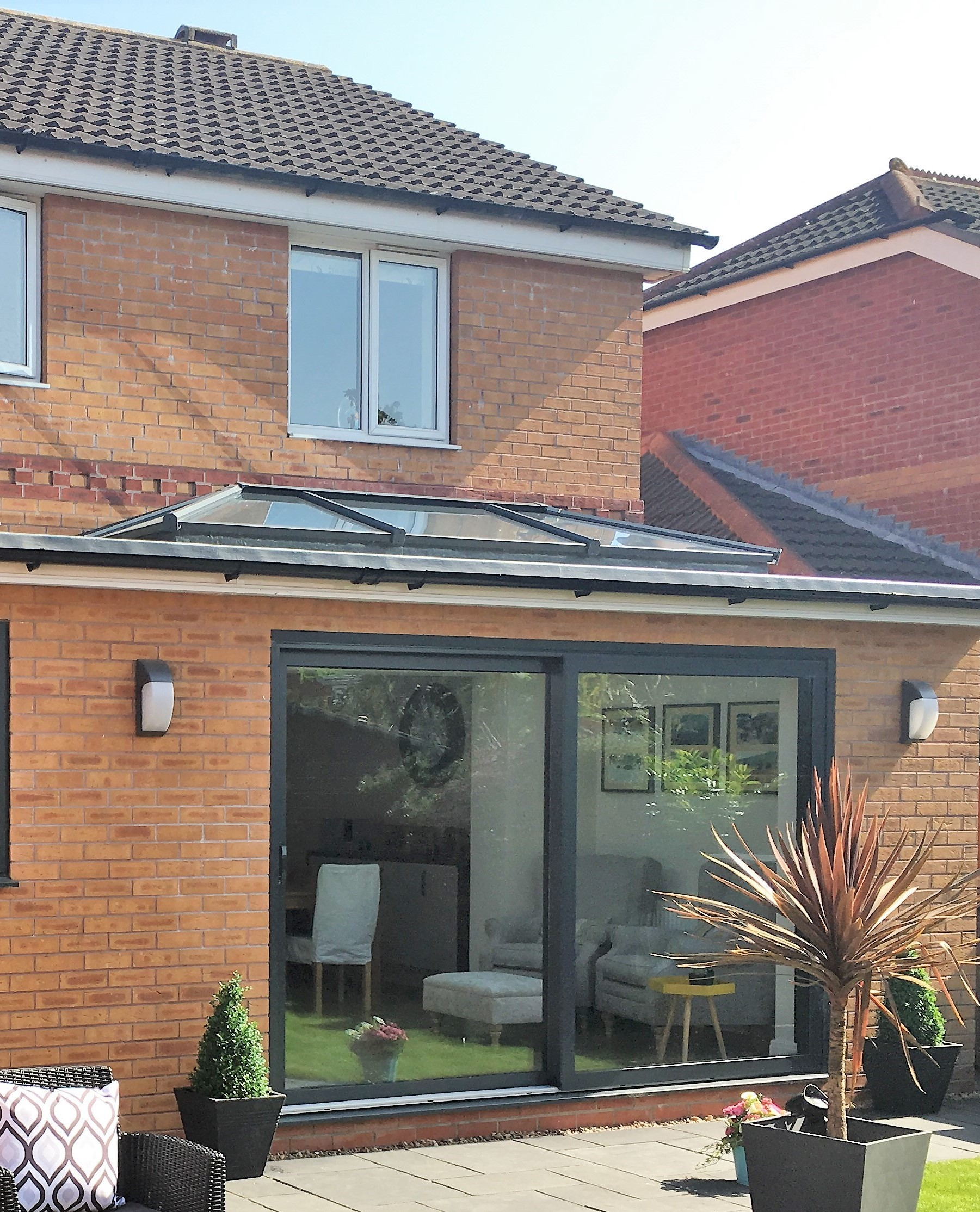 single storey extension drawings online